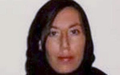 This 2013 photo released by the US Justice Department shows Monica Elfriede Witt, who the department on February 13, 2019 said was to be indicted for passing intelligence information to Iran and defecting to the Islamic Republic in 2013. (Department of Justice via AP)