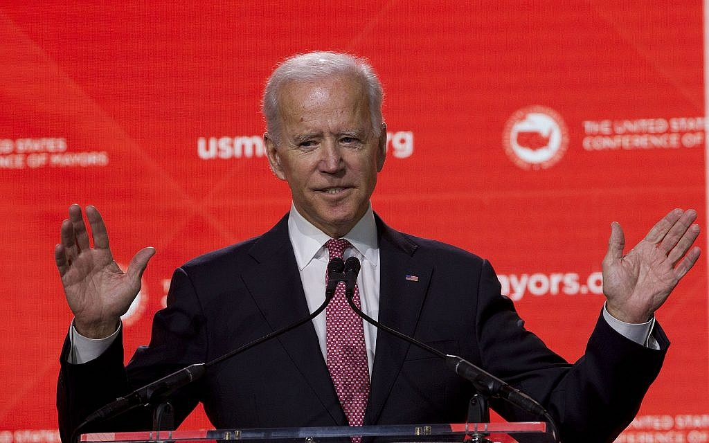 Joe Biden puts foreign policy at heart of his 2020 presidential bid