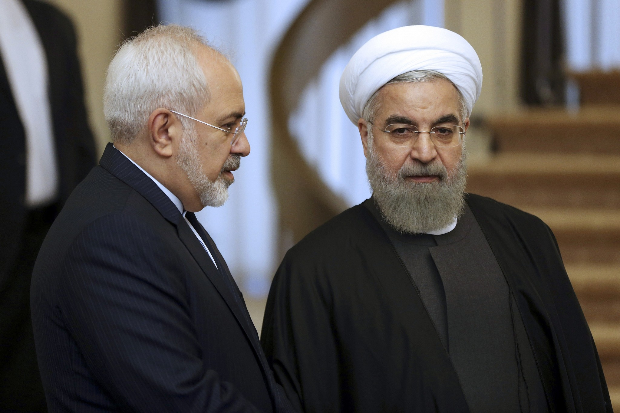 Iran president rejects Mohammed Zarif's resignation