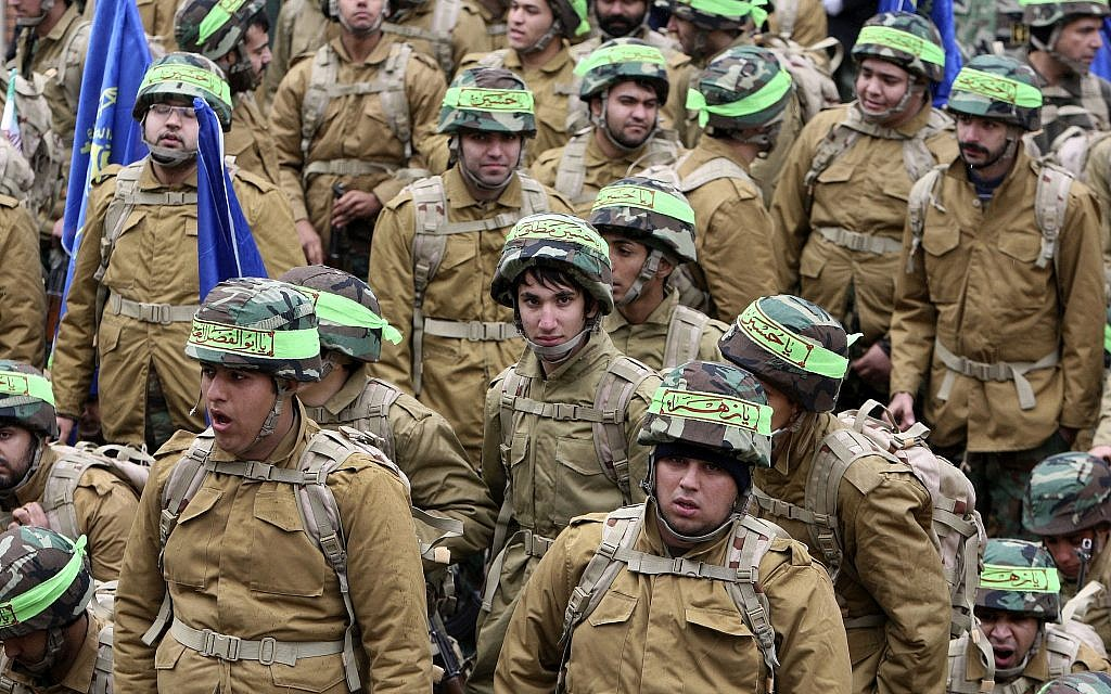 Attack on Iranian paramilitary base kills 1, wounds 5
