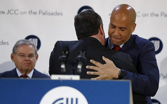 5 Jewish things to know about Cory Booker | The Times of Israel