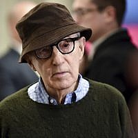 "Director Woody Allen attends a special screening of ""Wonder Wheel"" in New York, November 14, 2017. (Evan Agostini/Invision/AP)"