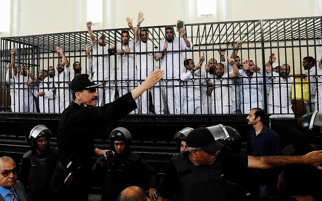 Egypt detains 8 for alleged Muslim Brotherhood plot to 'overthrow state'