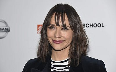 Rashida Jones attends the 10th Annual AAFCA Awards at the Taglyan Complex, Feb. 6, 2019, in Los Angeles. (Phil McCarten/Invision/AP)