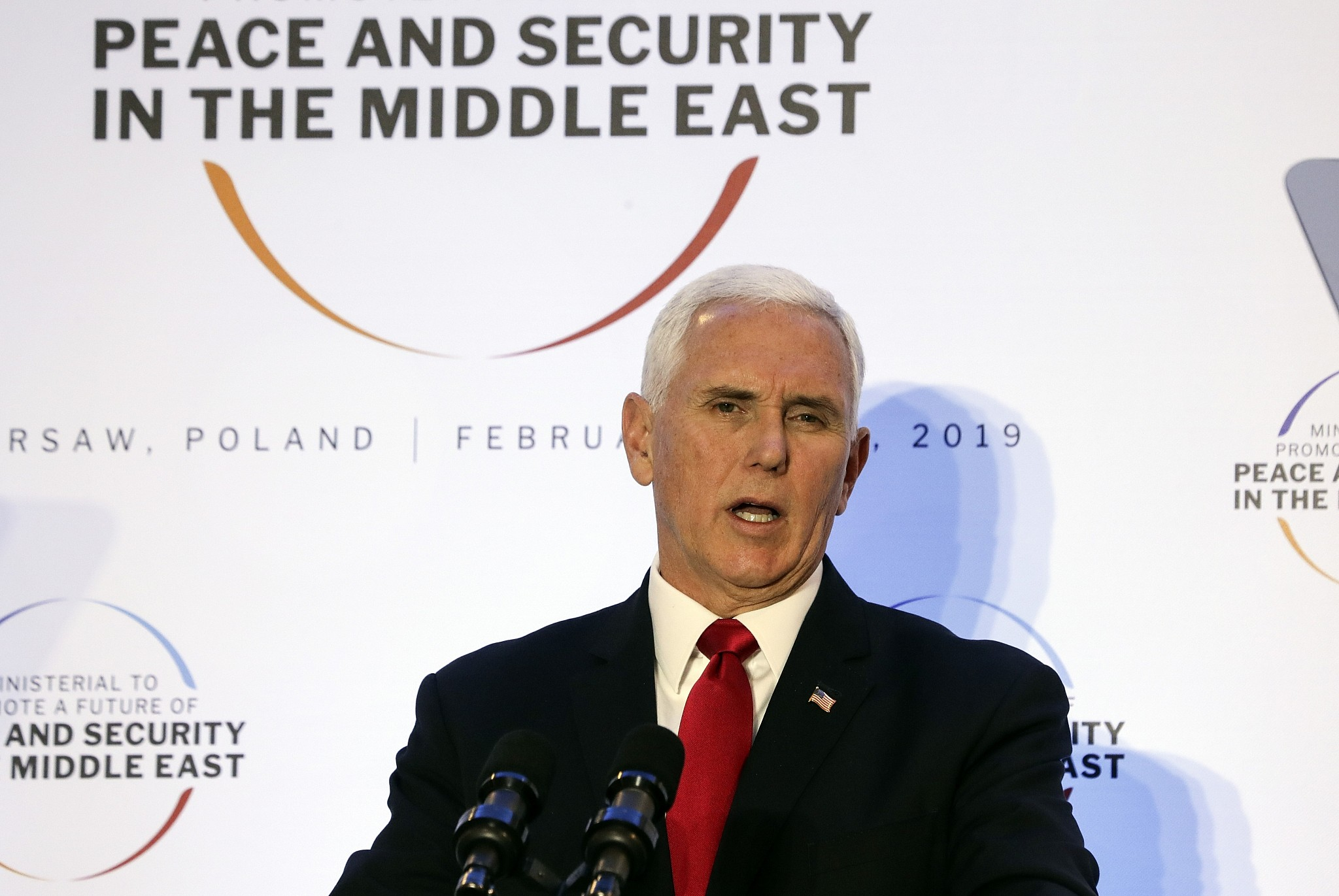 Pence Met With Silence During Munich Speech After Sending Greetings from Trump