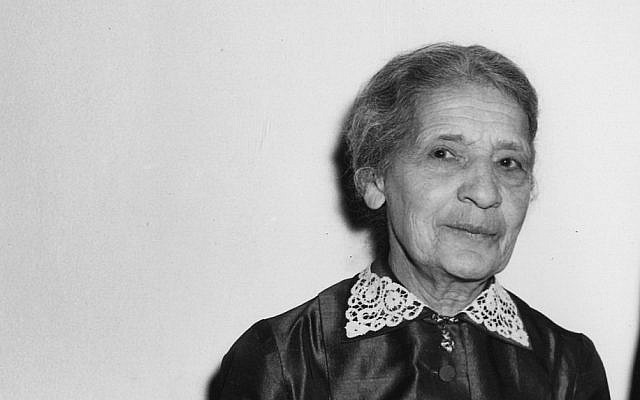 Portrait of Prof. Dr. Lise Meitner, the Swedish noted woman scientist, who assisted in the development of the atomic bomb, pictured in West Berlin, West Germany, May 11, 1957. (AP Photo/Werner Kreusch)