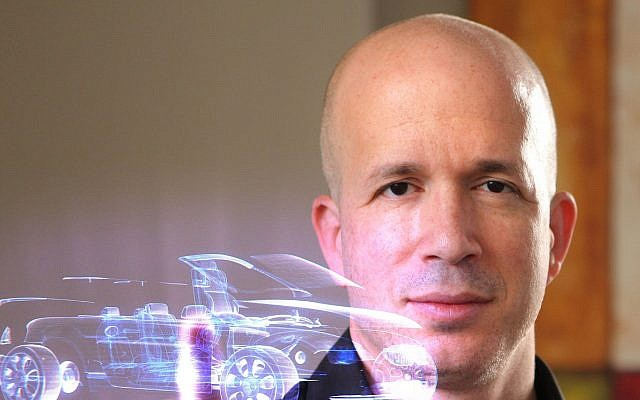 Alon Melchner, the CEO of Mixed Place, an Israeli startup that develops mixed reality technologies (Courtesy)