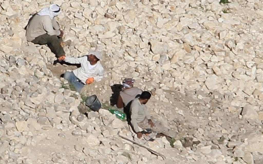 Antiquities thieves arrested at Herodian fortress and Iron Age site