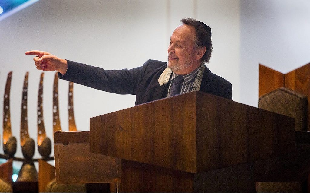 Illustrative: Billy Crystal as the rabbi in 'Untogether.' (Courtesy Freestyle Digital Releasing)