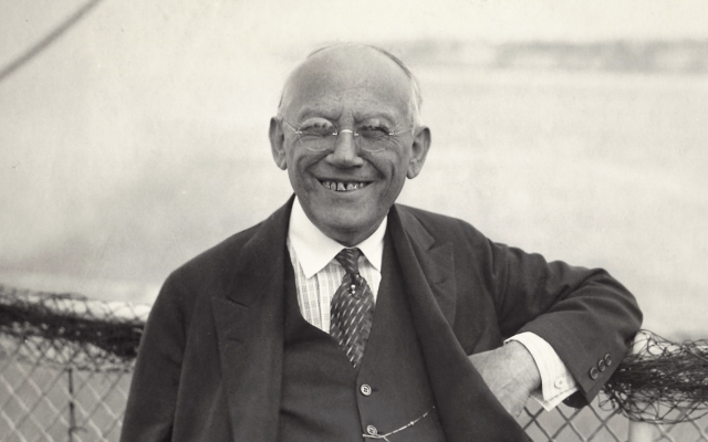 Holocaust-era hero and founder of Universal Pictures Carl Laemmle. (Courtesy James L. Freedman.)