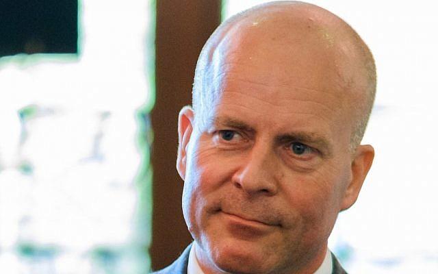 Raymond Knops, Dutch state secretary for interior affairs. (Wikimedia Commons via JTA)