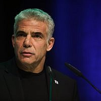 Yesh Atid chairman Yair Lapid (Hadas Parush/Flash90)