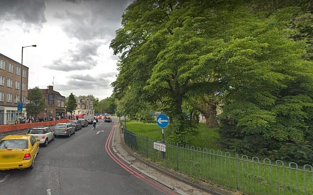 Screen capture of Highbury Corner, London, UK. (Google Maps)