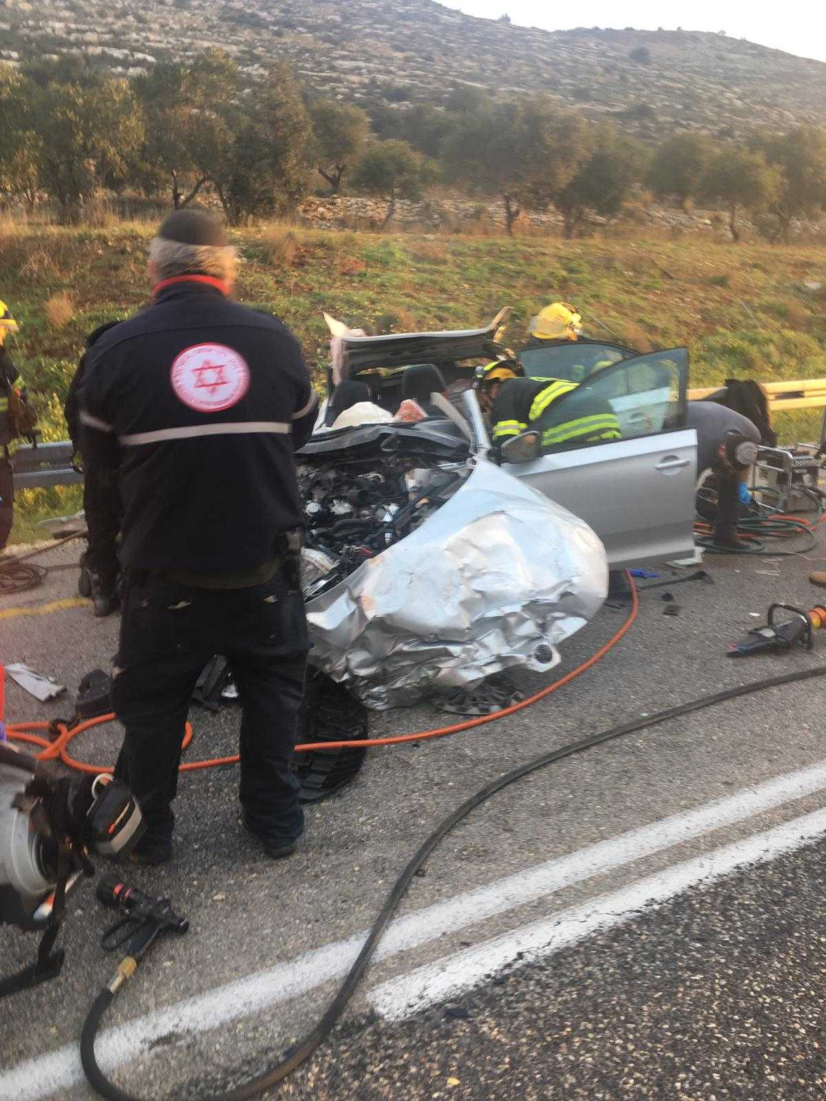 Two dead in head-on collision on central West Bank road | The Times