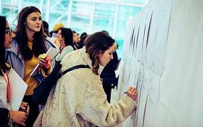120 women ages 18-35 attended the first-ever Jewish Women's Empowerment Summit in Frankfurt, Germany, February 21-24, 2019. (Courtesy)