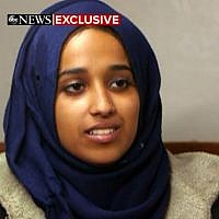 Hoda Muthana, a US-born former Islamic State propagandist, who is being barred from returning to the US (Screen capture/ABC News)