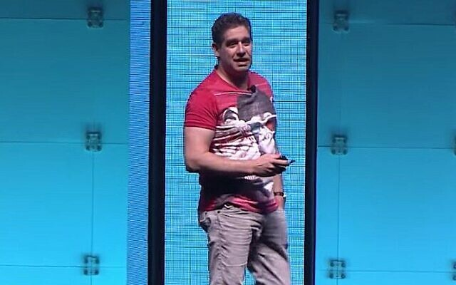 Palo Alto Networks founder & CTO Nir Zuk (YouTube Screenshot)