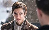 In the new Holocaust dramatic film 'The Bird Catcher,' Norwegian Jewish teenage girl Esther (Sarah-Sofie Boussnina) is shown posing as a non-Jewish boy named Ola to survive persecution by the Nazis and collaborators. (Courtesy)