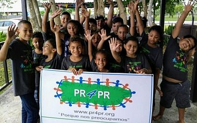 PR4PR helps at-risk children in Puerto Rico. (via JTA)