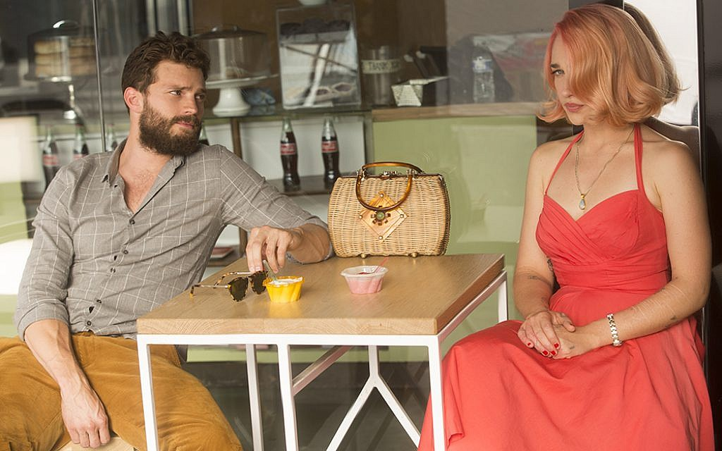 Jamie Dornan, left, as Nick, and Jemima Kirke as Andrea, in the new film 'Untogether.' (Courtesy Freestyle Digital Releasing)