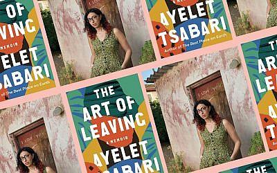 Israeli author Ayelet Tsabari. (Collage by Alma; Tsabari photo: Jonathan Bloom)