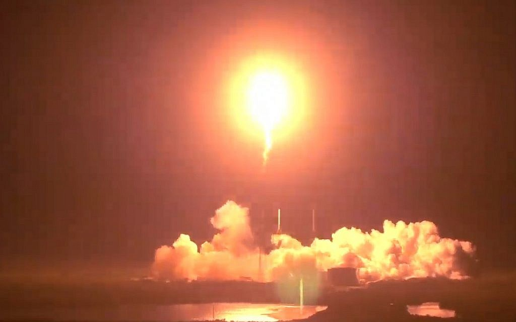 Israel's moonshot kicks off with a successful launch