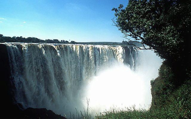 Victoria Falls seen from the Zimbabwe side in May, 1997. (AP Photo/Samuel Shelanski)
