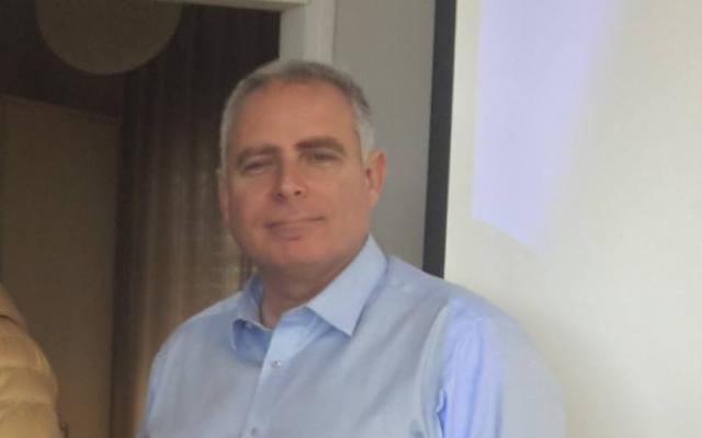 Jerusalem District Psychiatrist Jacob Charnes in 2016 (Facebook)