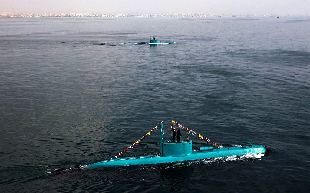 Iran to unveil submarine equipped with guided cruise missile system