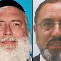 Aryeh Greenes (L) and Aviv Mizrahi. (Courtesy FBI)