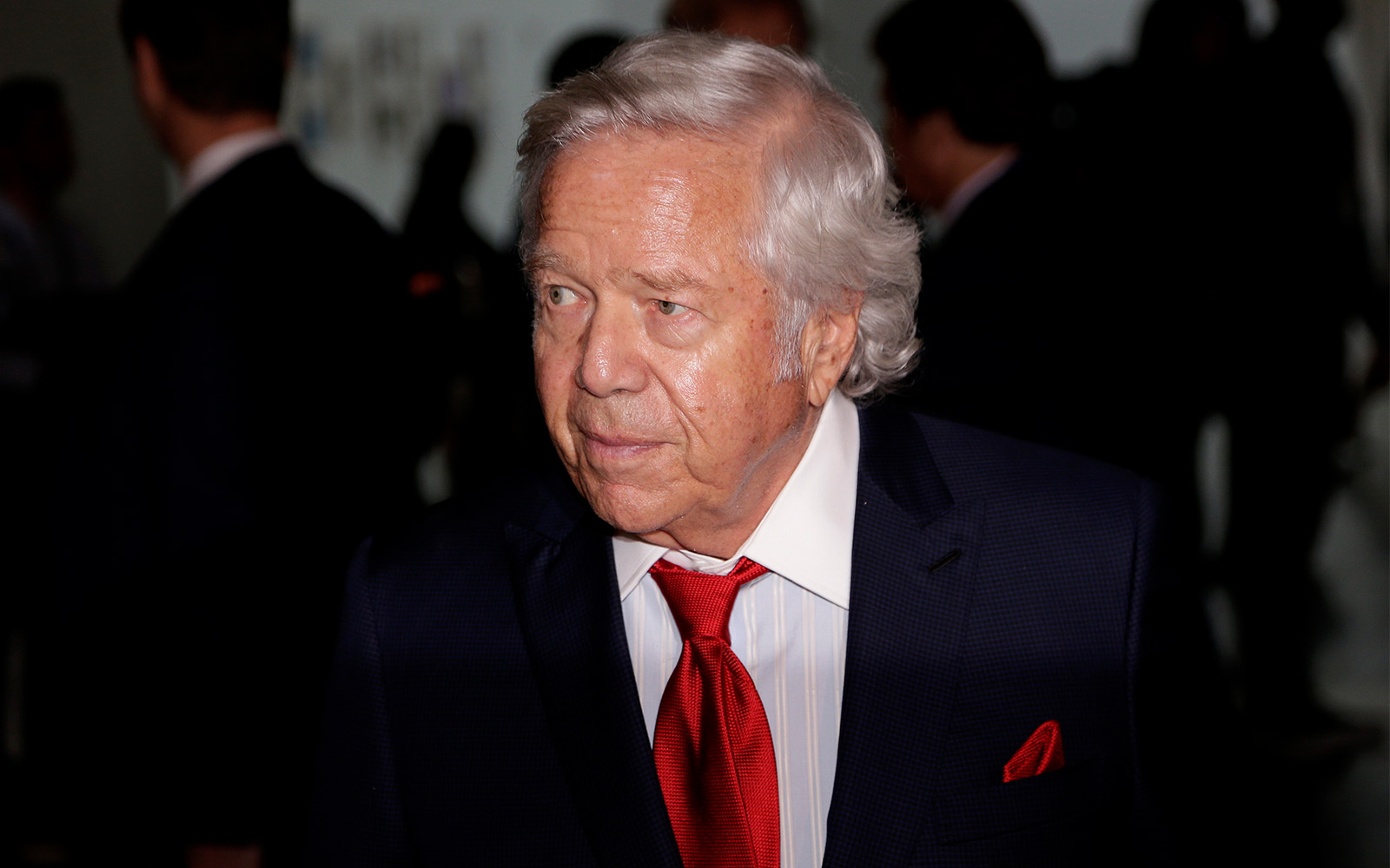 21052f8f660 New England Patriots owner Robert Kraft arrives for the NFL football fall  meetings in New York