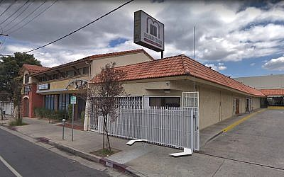The Mishkan Torah religious seminary in Los Angeles. (Google street view screenshot)