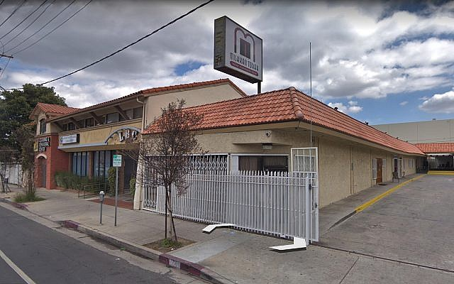 The Mishkan Torah religious seminary in Los Angeles. (Google street view screenshot)