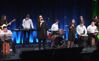 The Shalva Band had a shot at becoming Israel's representative at the Eurovision contest. (Screen capture: YouTube)