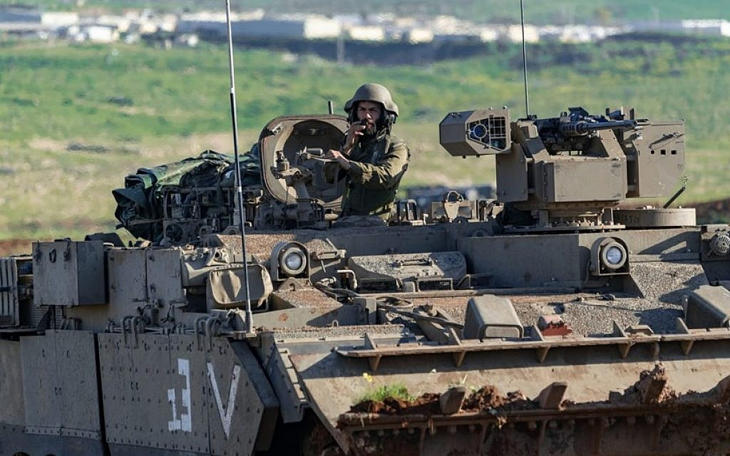 IDF conducts massive drill to 'simulate conditions of war with Hezbollah'