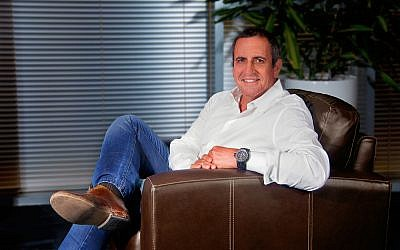 Mellanox founder and CEO Eyal Waldman (Courtesy)