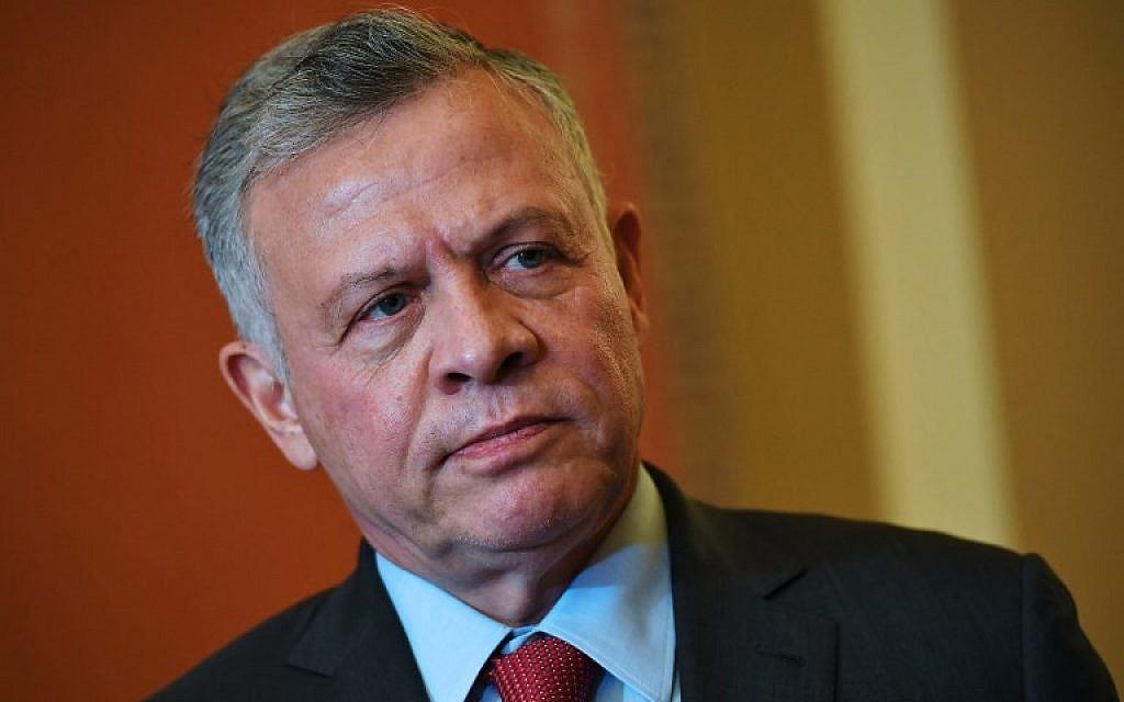 Amid Temple Mount tensions, Jordan king calls Jerusalem 'a red line'