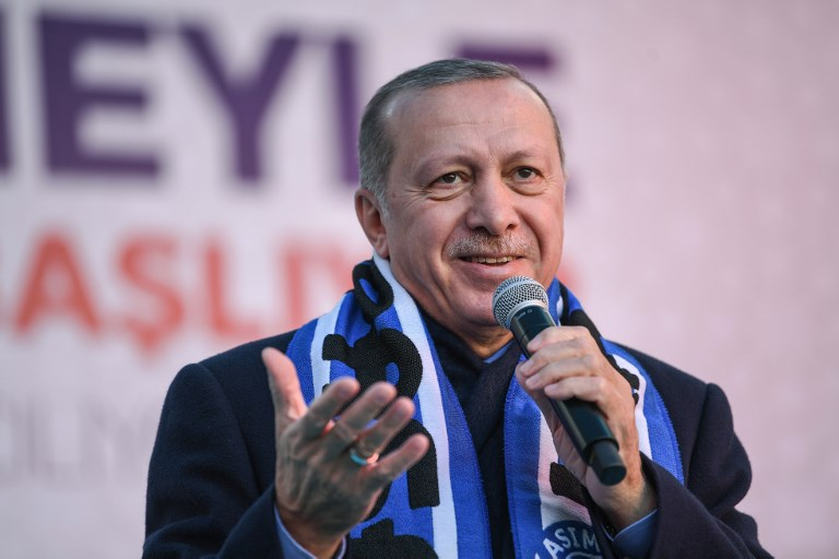 Turkish leader shows NZ attack video at rallies