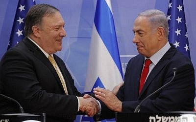 Pompeo visit gives boost to Israel PM