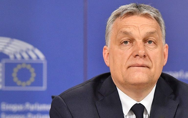 Hungary Orban: Europe's centre-right EPP suspends Fidesz