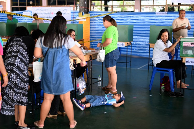 Thailand votes in first general election since 2014 military coup