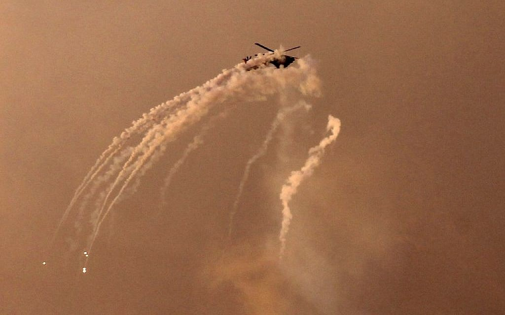 Hamas tried to down an IDF helicopter during fighting this month – report