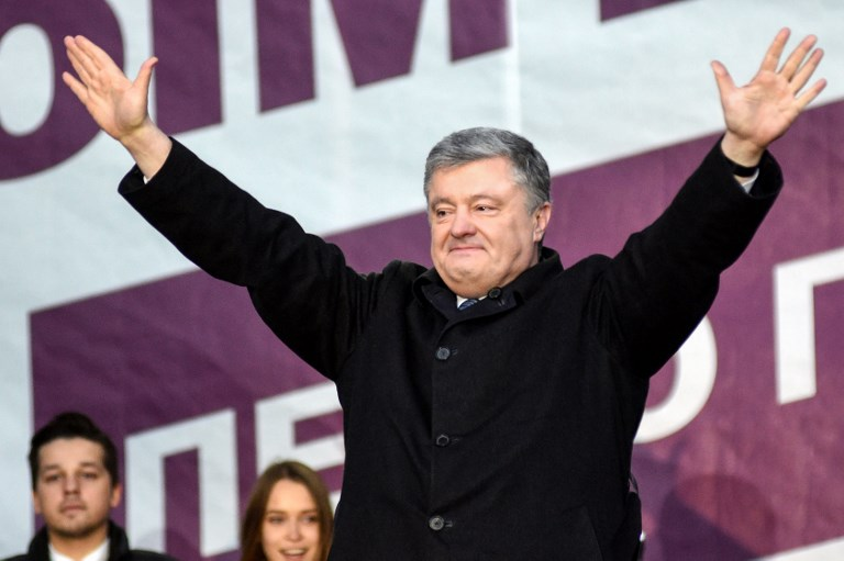 Polling stations close in Ukraine's presidential election, vote count in progress