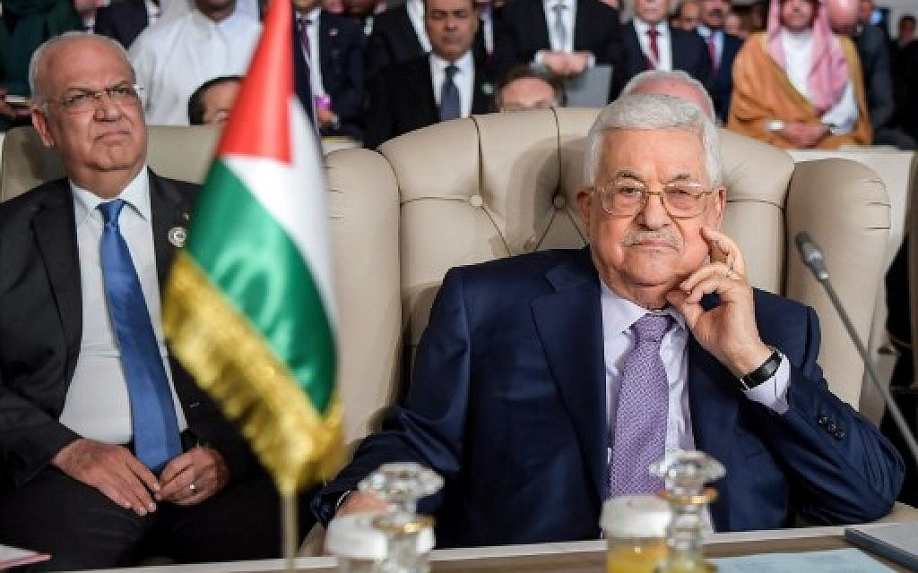 Abbas said to refuse to take phone call from Trump