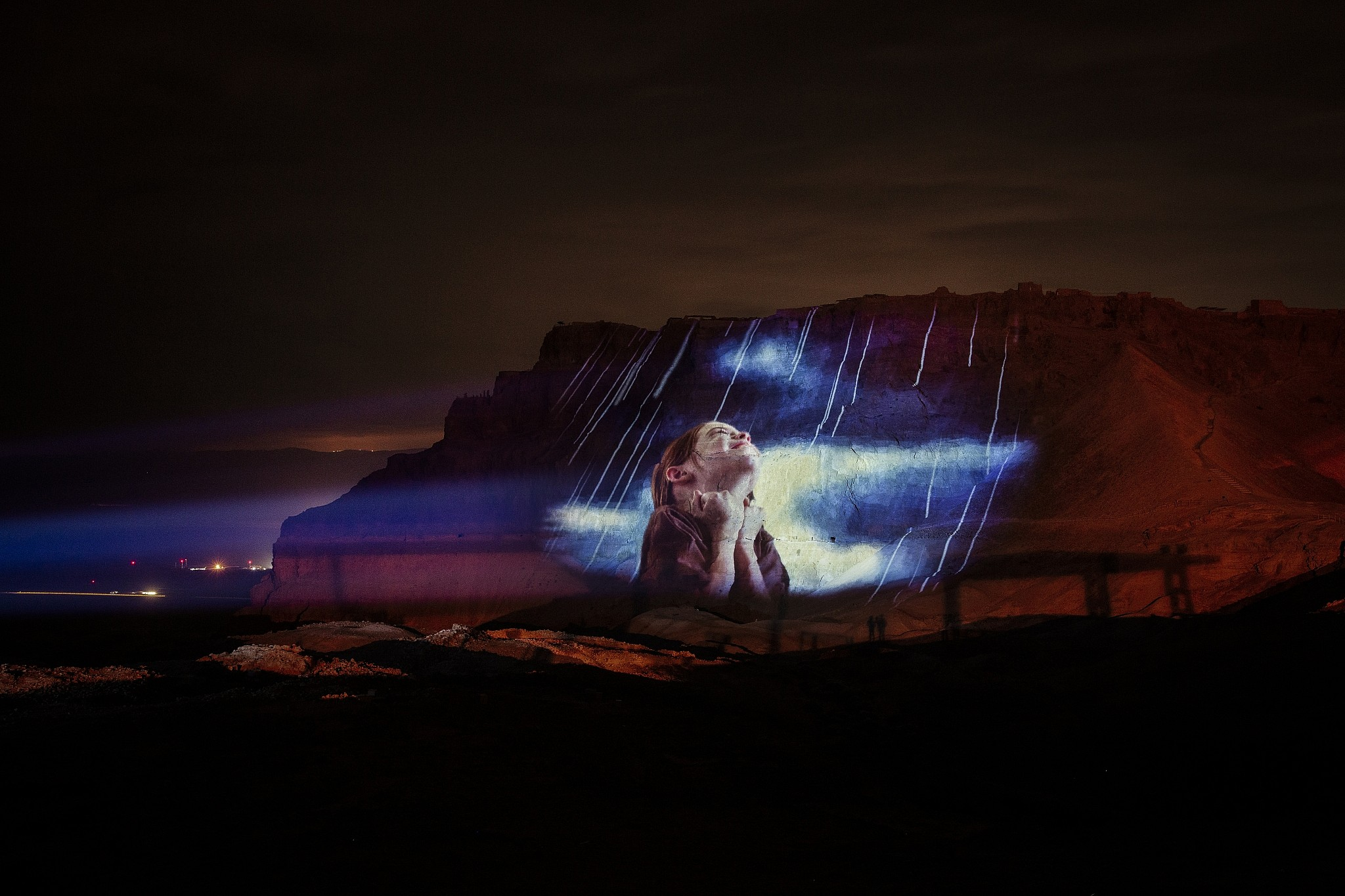 With new light show, 2,000-year-old Masada gets makeover fit for a