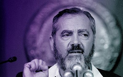 Meir Kahane in 1985 (Bettmann/Getty Images)