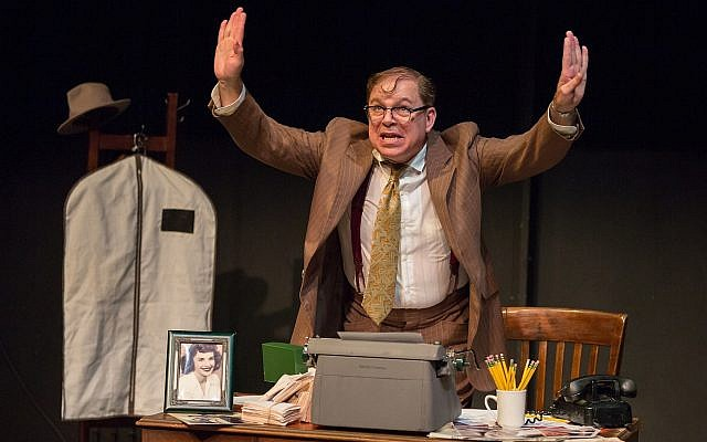 Phil Johnson stars in the one-man show 'A Jewish Joke' (Eric Woolsey)