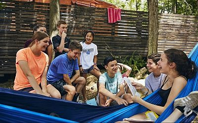Camp Havaya has instituted policies to ensure that healthy coupling up is not a focus. (Courtesy of Camp Havaya/via JTA)