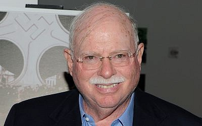 Michael Steinhardt shown in 2010 attending the New York City premiere of 'A Film Unfinished,' a documentary about the Warsaw Ghetto (Jason Kempin/Getty Images via JTA)