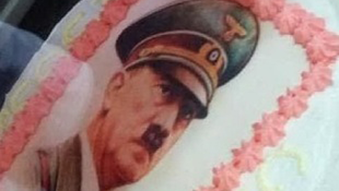 Astounding Italian Boy 15 Celebrates Birthday With Hitler Cake Featuring Birthday Cards Printable Riciscafe Filternl